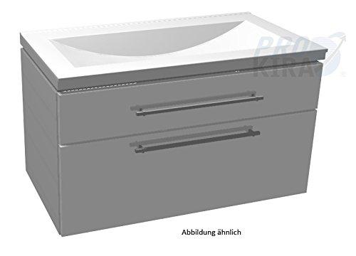 PURIS Cool Line Set: Unterschrank (WUA389A1M) + Lavandino-Waschtisch (WSS509058) / 90 cm