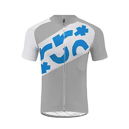 Uglyfrog Herren Grau Familie Breathable Kurzarm Radtrikots der Männer Radfahrende Hemden Fahrrad-Oberteile für Fahrrad, Radfahrer, Fahrrad