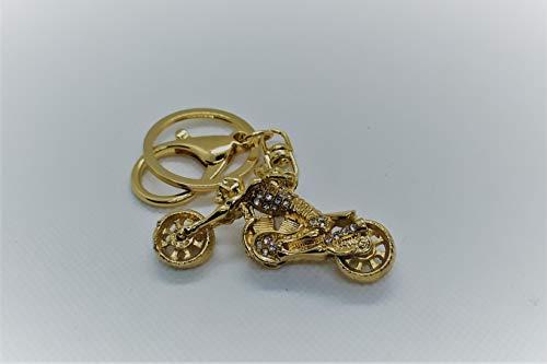 AtlantisForYou gouden metalen sleutelhanger model motorfiets sleutelhanger sleutelhangers Mini motorfiets hanger