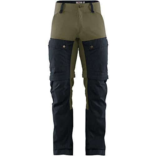 FJALLRAVEN Keb Gaiter Trousers M Pantalon pour Homme XXL Multicolore (Dark Navy-Light Olive)