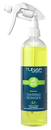 TUNAP SPORTS Fahrradreiniger E-Bike ready, 1 Liter mit Sprühkopf | Pflege und Wartung von MTB bis Rennrad - Rahmen und Teile