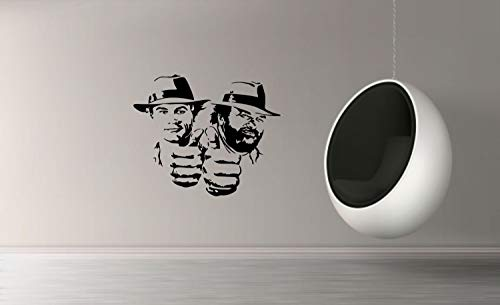myrockshirt Wandtattoo Terence Hill & Bud Spencer 50cm Aufkleber für Auto,Lack,Scheibe&Wand, Autoaufkleber Decal Sticker Profi-Qualität