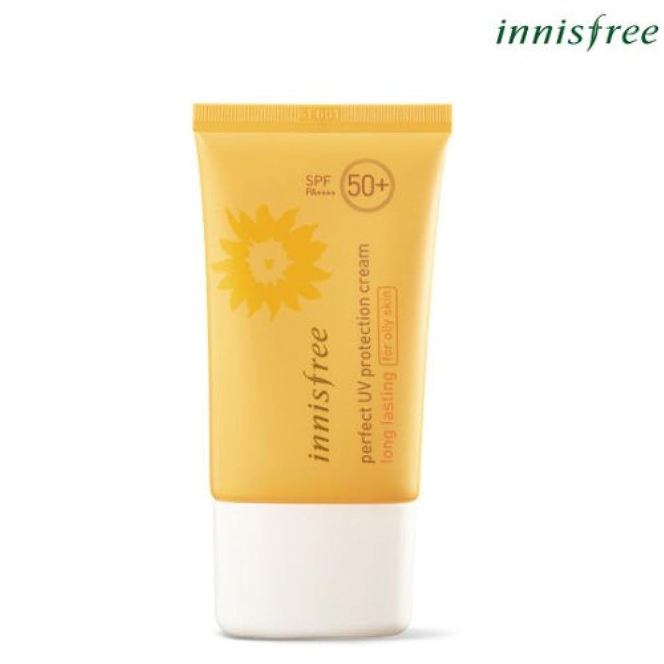 誇り出演者縫い目[INNISFREE]イニスフリーパーフェクト UV プロテクション クリームロングラスティング[オイリー肌のためFOR OILY SKIN]SPF50+ PA++++ 50mL perfect UV protection cream long lasting for oily skin SPF50+ PA++++ 50mL [並行輸入品]