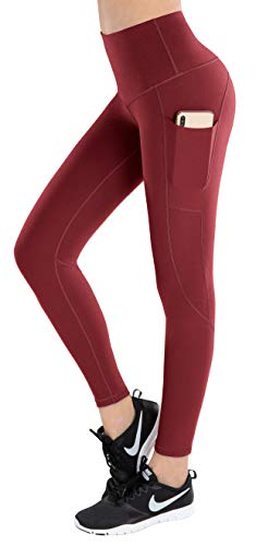 LifeSky High Waist Yoga Pants Workout Leggings for Women with Pockets Tummy Control Soft Pants, XXL