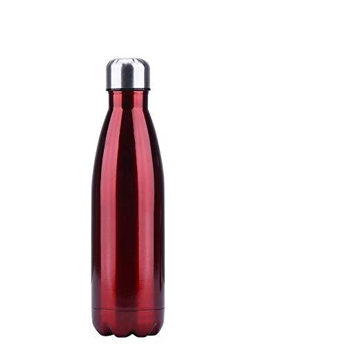 NYCROSSER Waterfles Thermo Cup Geïsoleerde Dubbele Muur RVS Lekvrij Outdoor Sport Wandelen Herbruikbaar 350/500/750/1000Ml