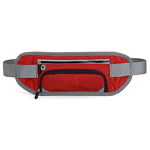 QIANJINGCQ Outdoor sports waist bag multifunctional running mobile phone waist bag personal marathon small belt water bottle bag