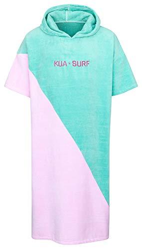 KUA-SURF - Surf Poncho Damen - Surfponcho auch ideal als Strand Poncho oder Hoodie Decke einsetzbar - 1,20m x 80cm