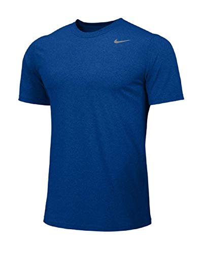 Nike Youth Boys Legend Short Sleeve Tee Shirt (Youth X-Large, Royal)