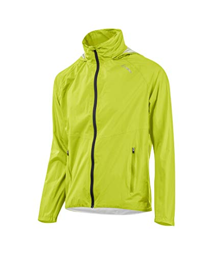 LÖFFLER Jacket with Hood WPM Pocket CF Herren - 23480 - Bike Regenjacke