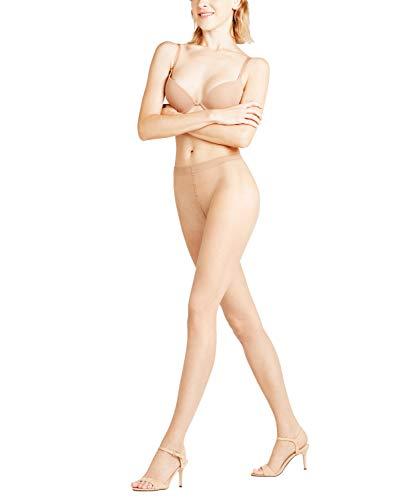 FALKE Damen Strumpfhosen Shelina 12 Denier Toeless - Ultra-Transparente, 1 Stück, Beige (Powder 4169), Größe: M
