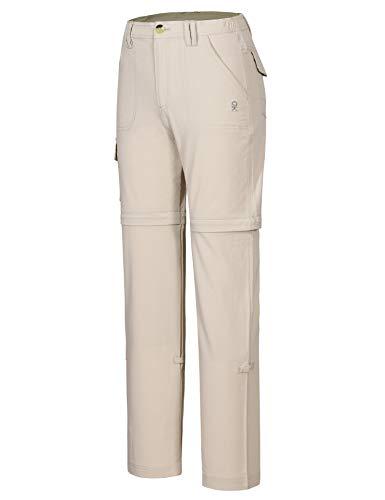 Little Donkey Andy Kinderhose, schnelltrocknend, leicht, für Jungen und Mädchen - khaki - 176 cm
