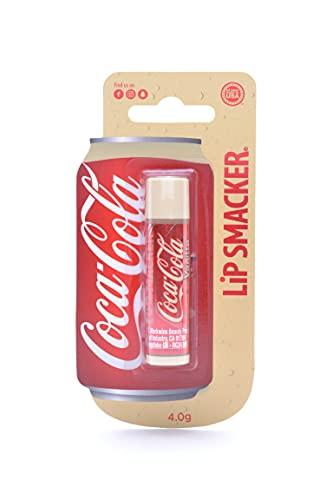Lip Smacker, Colección Coca-Cola, Bálsamo Labial de Coca-Cola Sabor Vainilla para Niños, un Regalo Dulce para Tus Amigos, Pack Individual 30 g