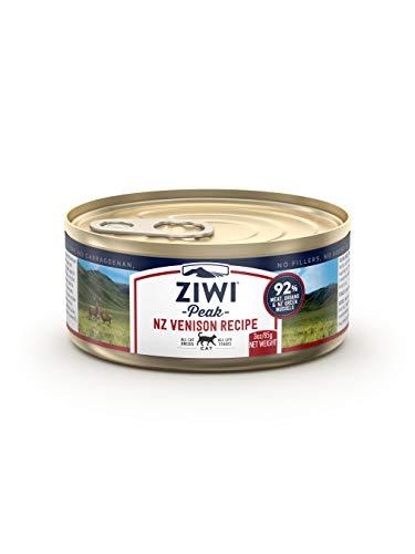 Ziwi Peak Alimento Húmedo para Gato, Sabor Venado - 24 latas de 85 gr