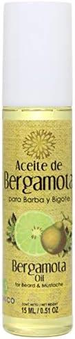 Aceite de Bergamota para Barba y Bigote Bergamot Oil for Beard and Mustache 15 ml 0 51 oz Lenico product image