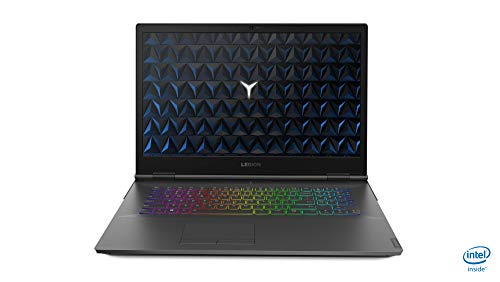 "Lenovo Legion Y740 Black Notebook 43.9 cm (17.3"") 1920 x 1080 pixels 9th gen Intel® Core i7 i7-9750H 16 GB DDR4-SDRAM 1128 GB HDD+SSD Legion Y740, 9th gen Intel® Core i7, 2.6 GHz, 43."