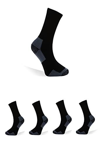 Björn Swensen Arbeitssocken Herren Baumwolle-Anteil 20er Pack schwarze Socken Berufssocken Männer Sportsocken Strümpfe work socks robust atmunngsaktiv 43-46