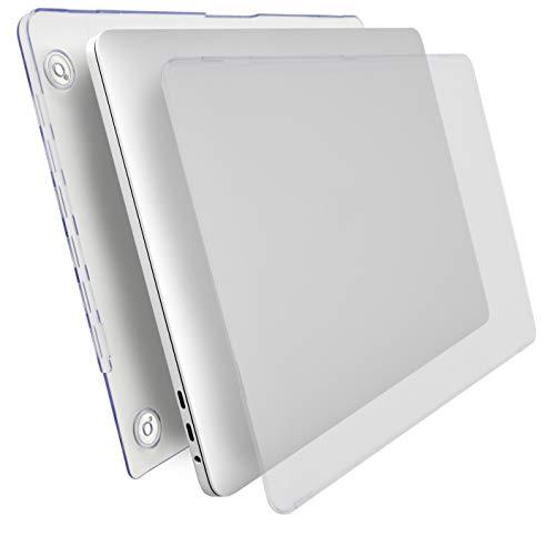 MyGadget Hulle Hard Case Matt fur Apple MacBook New Pro 15 Ende 2016 mit USB Type C Model A1707 A1990 Schutzhulle Tasche Hartschalen Cover Transparent