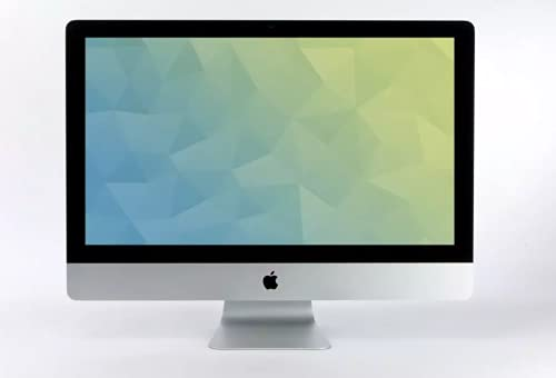 2017- Apple iMac 27 Zoll 5K - 3.8GHz i5-8GB RAM - Radeon 580 8GB - 500GB SSD (A) Silber (Generalüberholt)