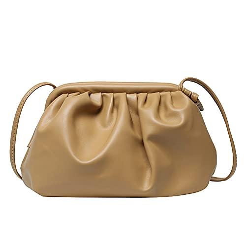 seOSTO Crossbody Bag Cloud-shaped Crossbody Bag Fashionable and Lovely Bag Handbag Clutch Bag