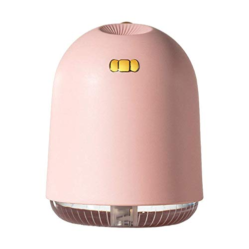 Odxlzc Mini humidificador con Puerto USB, humidificador de Aire portátil con luz Nocturna en Forma de Dinosaurio