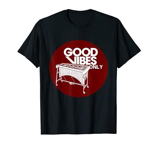 Vibráfono Good Vibes Only - Vibraphonist & Marimba Player Camiseta