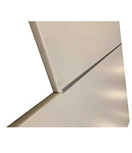 Küchen-Preisbombe Eckverbindungsschiene Aluminium 38 mm Arbeitsplatten Schiene für Eck Verbindung