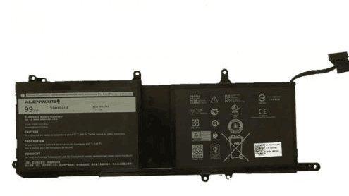 9NJM1 01D82 44T2R HF250 MG2YH 0546FF 546FF 0HF250 Laptop Battery Replacement for Dell Alienware 15 R3 R4 17 R4 R5 ALW17C-D1738 D1748 D1758 D1848 D2738 D2748 D2758 R1748 P31E001(11.4V 99Wh)