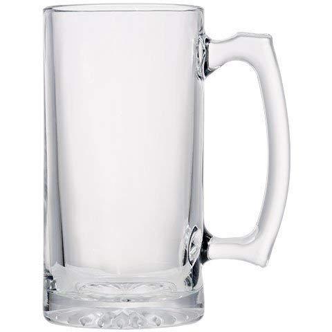 26 oz Jumbo Thick Glass Sports Beer Mugs
