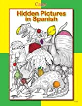 Hidden Pictures in Spanish. Vocabulary Review for Beginners.