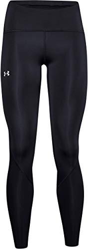 Under Armour Fly Fast 2.0 Tight, hautenge, atmungsaktive Sporthose, leichte und komfortable Damen Sport Leggings Damen, Black / Black / Reflective , L