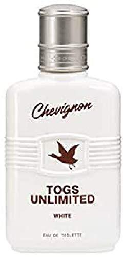 Chevignon Togs Unlimited White Eau de Toilette Zerstäuber für Männer, 100 ml