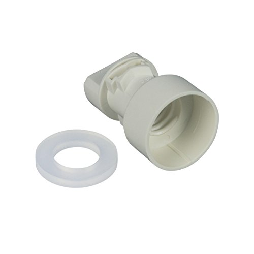Liebherr 6072038 ORIGINAL Lampenfassung Sockel mit Dichtring Dichtung für E14 Lampe Leuchte Kühlgerät Kühlschrank