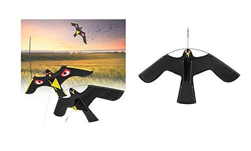 Eva Shop Scarecrow Bird of Prey Bird Scarer Bird of Prey Dragon Hawk Bird Pigeon Repellent Bird Dragon with Reflective Eyes Span 1.20 m and 1.40 m