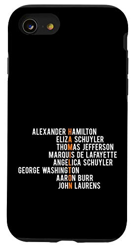 iPhone SE (2020) / 7 / 8 Hamilton Case