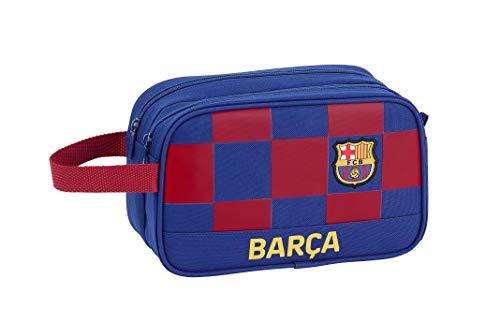 FCB FC Barcelona Accesorio de Viaje- Neceser, Niños, Multic