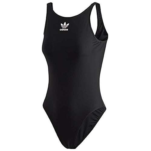 adidas TRF Swim, Costume da Nuoto Donna, Black/White, 42
