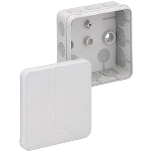 Spelsberg 2K-12-l Polypropylene (PP) Electrical Junction Box–Electrical Junction Boxes (Grey, 85mm, 85mm, 37mm)
