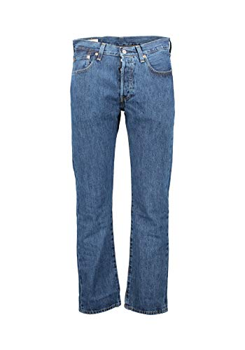Levi's 501 Original Fit Jeans, Blu 31, 27W / 30L Uomo