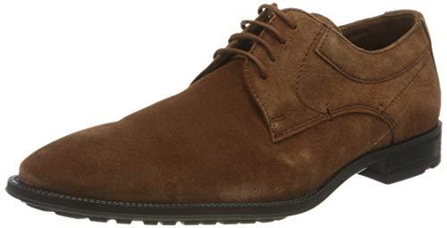 LLOYD Herren Justus Uniform-Schuh, Cognac, 45 EU