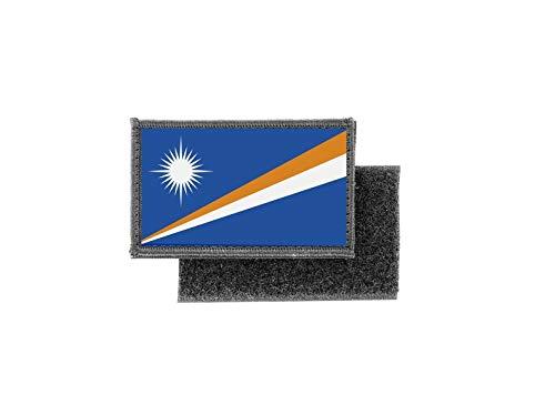 Aufnäher patch aufbügler gedruckt flagge fahne marshallinseln marshall