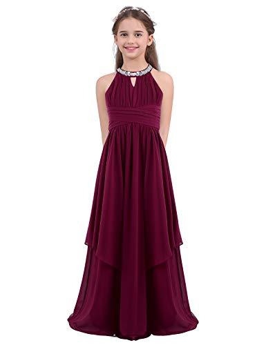 Inlzdz robe longue en mousseline de soie avec...