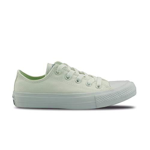 Converse Chuck Taylor All Star Unisex Canvas Schuhe mit 7kmh Aufkleber Weiss 3254 36