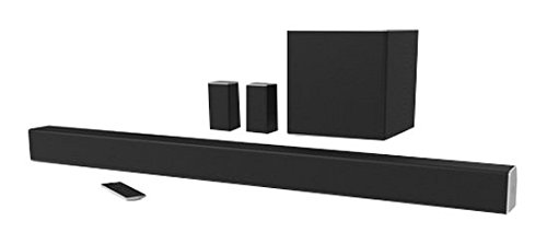 VIZIO SB4451-C0 SmartCast 44' 5.1 Sound Bar System, Black