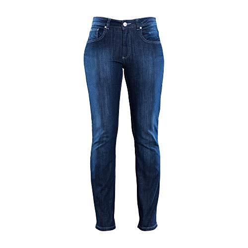 COLAC Damen Jeans Martha in Dark Used mit Straight Fit mit Stretch 429.05.56