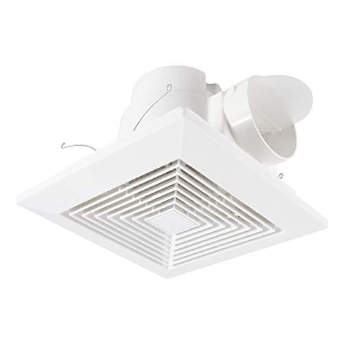 Decken Abluftventilator 100mm - HG POWER 300m³/h Eingebauter Ventilator Badlüfter Geräuscharmer Badventilator Inline-lüfter für Bad Küchenbädern und Garagen - (Öffnungsgröße: 230 * 230mm)
