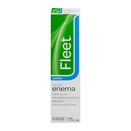 Fleet Saline Enema 4.50 oz (Pack of 2)