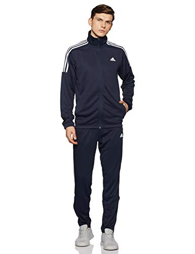adidas Herren Team Sport Trainingsanzug, Legend Ink/White, M