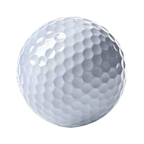 Sale!! BESPORTBLE Professional Golf Ball 2 Layers Golf Training Ball Golf Accessory for Athletes Enthusiasts Outdoor Indoor