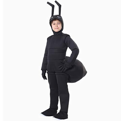 Lustiges Ameisenkostüm Cosplay, Halloween-Kostüm für Kinder, Karneval Party Anzug Insekt Dress Up,M