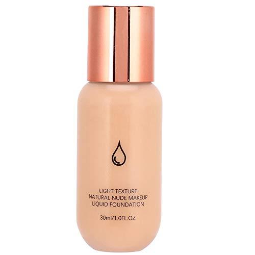 Liquid Matte Foundation, Correcteur Maquillage Liquide Hydratant Contrôle de L'huile Longue Durée Liquide Fondation Cosmétiques 30 ml(5#)